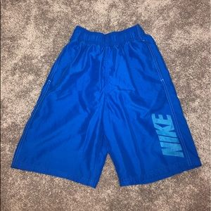 Blue Nike swimsuit